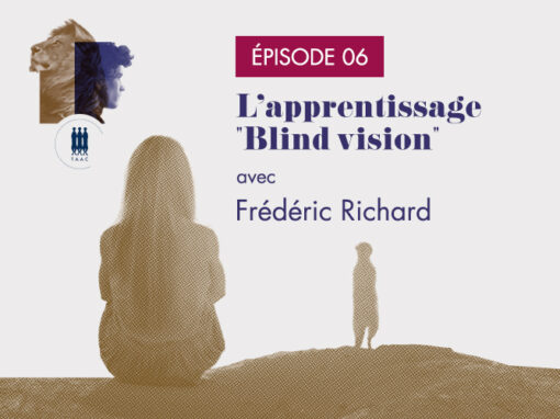 "ÉPISODE 06/ L'apprentissage ""Blind vision"" – Frédéric Richard"